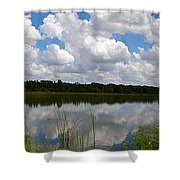 Florida Lake 1 Shower Curtain