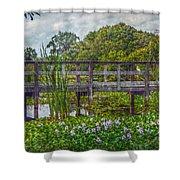 Florida Nature Shower Curtain