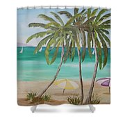 Florida Shade Shower Curtain