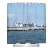 Florida Skyline Shower Curtain