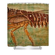 Florida Spiny Lobster Shower Curtain