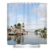 Florida Spring Day Shower Curtain
