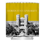 Florida State University - Gold Shower Curtain