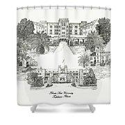 Florida State University Shower Curtain