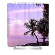 Florida Sunrise Shower Curtain