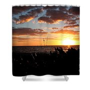 Florida Sunset Shower Curtain