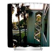 Florida Trees 3 Shower Curtain