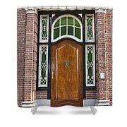 Florishaven Doorway Shower Curtain