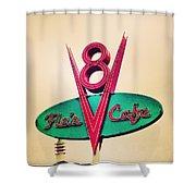 Flo's Cafe Shower Curtain