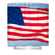 Flow Of Freedom Shower Curtain
