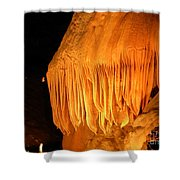 Flow Stone Shower Curtain