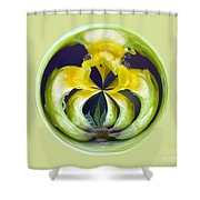 Flower Arms Shower Curtain