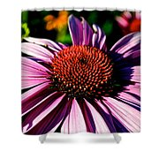 Flower Bed Close Up Shower Curtain