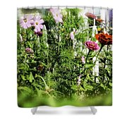Flower Bouquet Shower Curtain