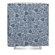 Flower Bundle Shower Curtain by Susan Claire