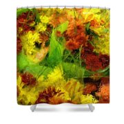Flower Carnival Shower Curtain