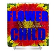 Flower Child Phone Case Work Shower Curtain