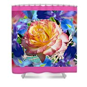 Flower Dance 2 Shower Curtain