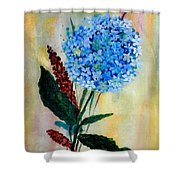 Flower Decor Shower Curtain