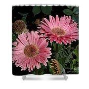 Flower Duvet Cover Shower Curtain