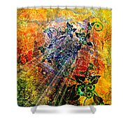 Flower Field Trip Shower Curtain