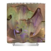 Flower Garden Abstract Shower Curtain