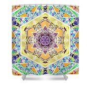Flower Goddess Shower Curtain