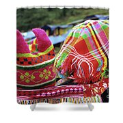 Flower Hmong Baby 05 Shower Curtain