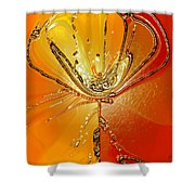 Flower I Shower Curtain