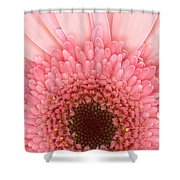 Flower - I Love Pink Shower Curtain