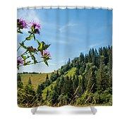 Flower In The Carpathians Shower Curtain