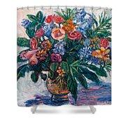 Flower Life Shower Curtain