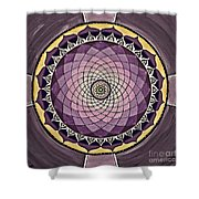 Flower Mandala Shower Curtain