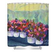 Flower Market Shower Curtain