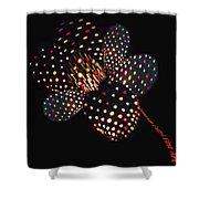 Flower Of Lights Shower Curtain