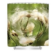 Flower Of Love Shower Curtain