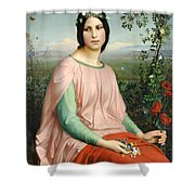 Flower Of The Fields Shower Curtain