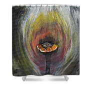 Flower On Fire Shower Curtain