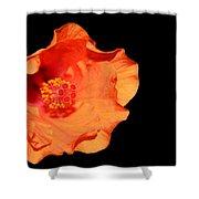 Flower On Fire Shower Curtain
