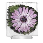 Flower Paint Shower Curtain