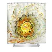 Flower Palette Shower Curtain