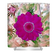 Flower Power 1439 Shower Curtain