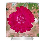 Flower Power 1441 Shower Curtain