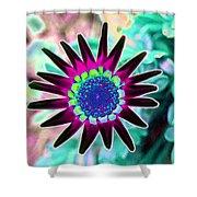 Flower Power 1448 Shower Curtain