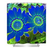 Flower Power 1451 Shower Curtain