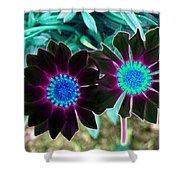Flower Power 1456 Shower Curtain