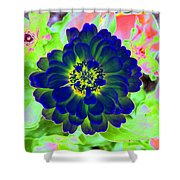 Flower Power 1460 Shower Curtain