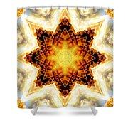 Flower Stars Shower Curtain