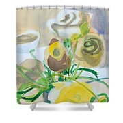 Flower Still Life          Shower Curtain