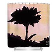 Flower - Sunrise Shower Curtain